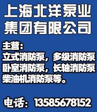 立式消防泵_上海北洋泵�I集�F有限公司