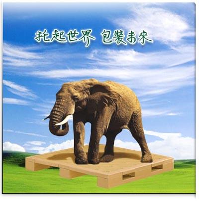 纸箱手工制作动物大象