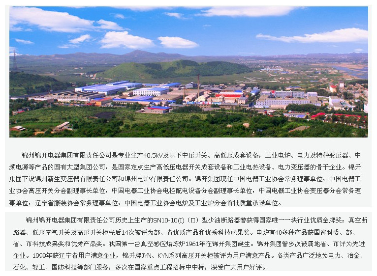 锦州开关厂(张沛东锦州锦开电器集团有限责任公司职工)形象图